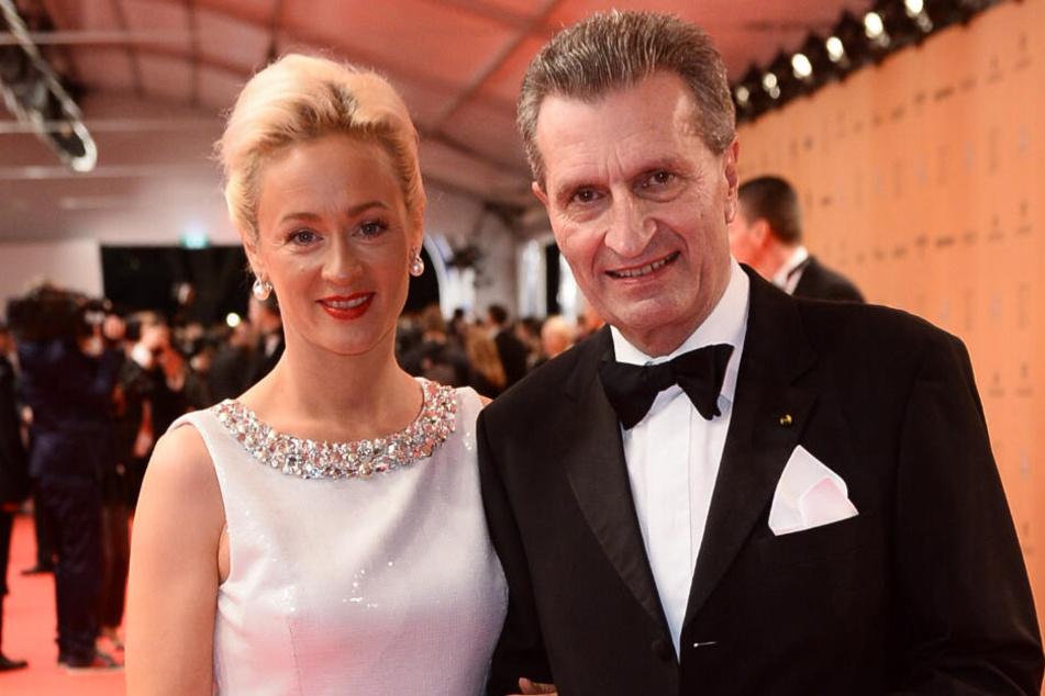 Oettingers Lebensgefährtin Friederike Beyer (links) wird Geschäftsführerin der Beratungsfirma.