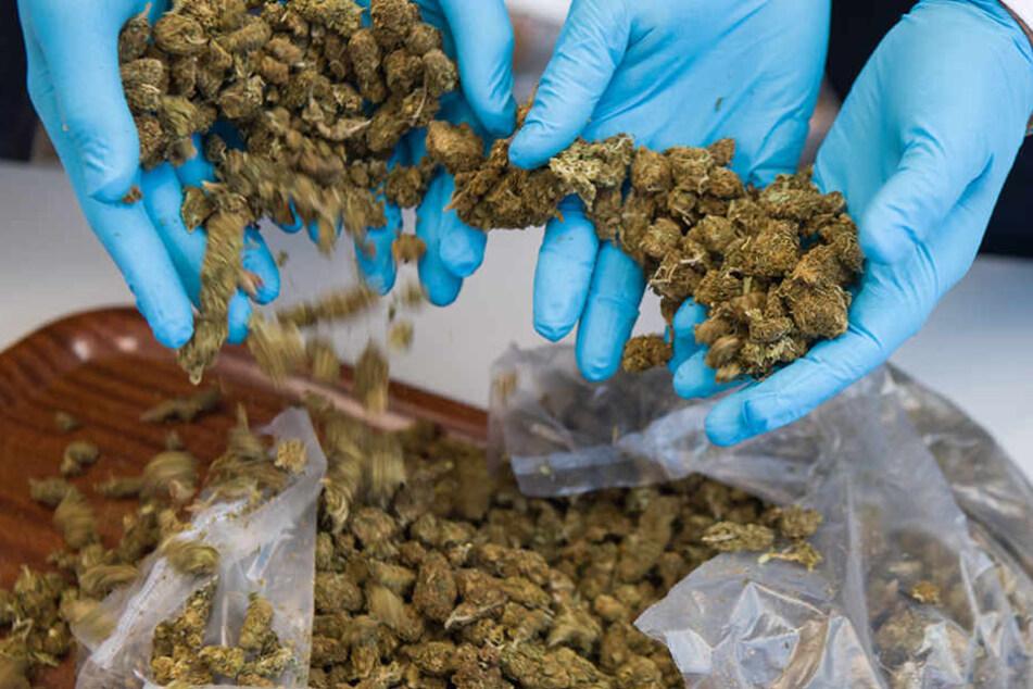 Die Beamten konnten 19 Kilogramm Marihuana sicherstellen. (Symbolbild)