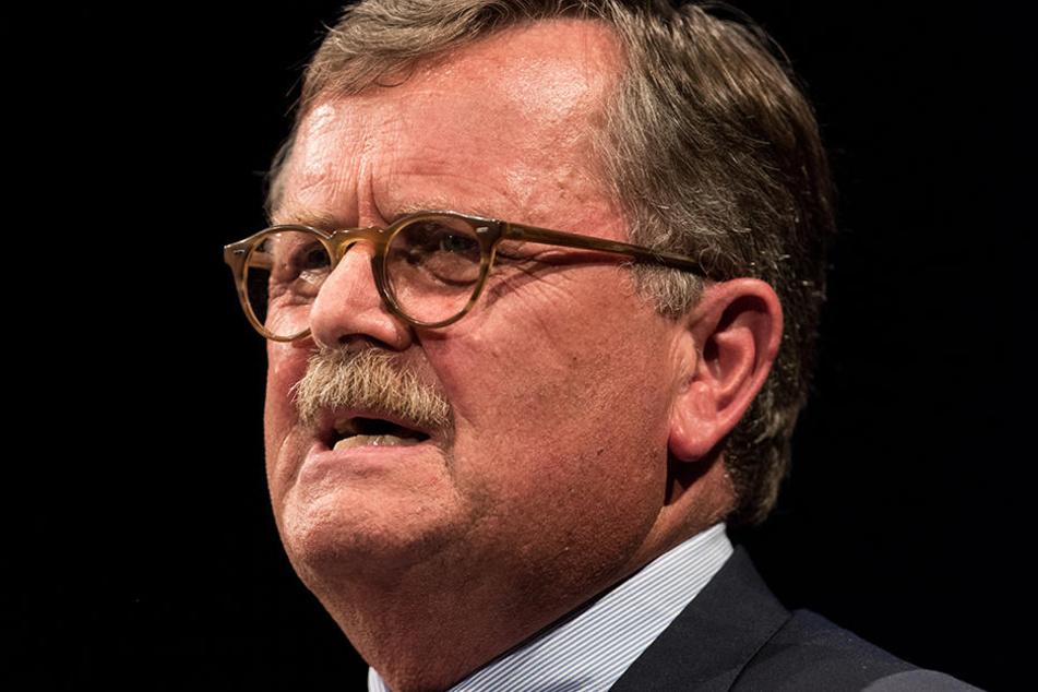 Der Präsident der Bundesärztekammer, Frank Ulrich Montgomery.