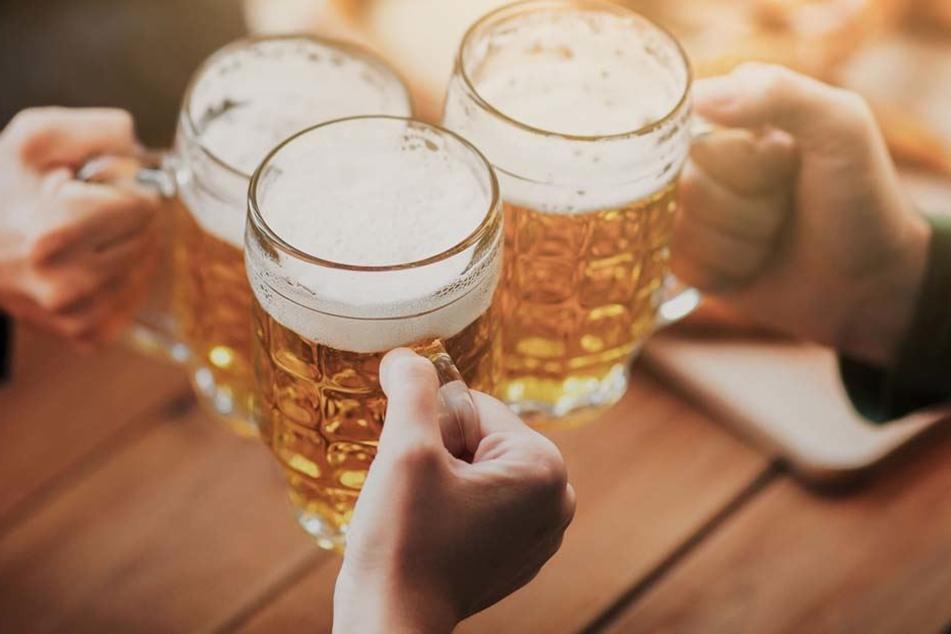 Auch im Winter gibt's beim Bier die Qual der Wahl, denn mittlerweile gibt es viele verschiedene Sorten.