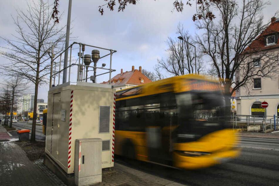 Jahrelang riss die Messstation an der Bergstraße die Grenzwerte. Die letzten zwei Jahre gab es keine kritischen Werte.