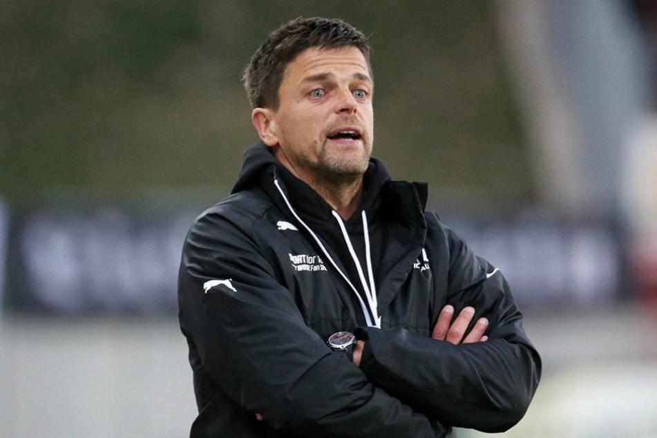 FSV-Trainer Torsten Ziegner konnte mit seiner Mannschaft zufrieden sein.