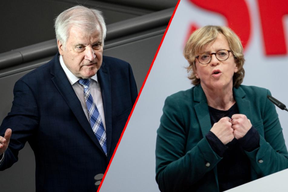 """""""Ich schäme mich für unser Land"""": SPD-Chefin Kohnen findet Seehofer untragbar"""