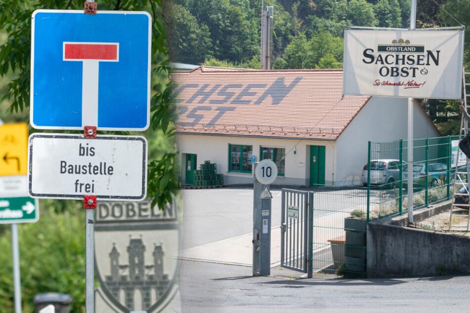 Ausgerechnet zur Haupterntezeit: Straße zu Sachsenobst wird gesperrt!