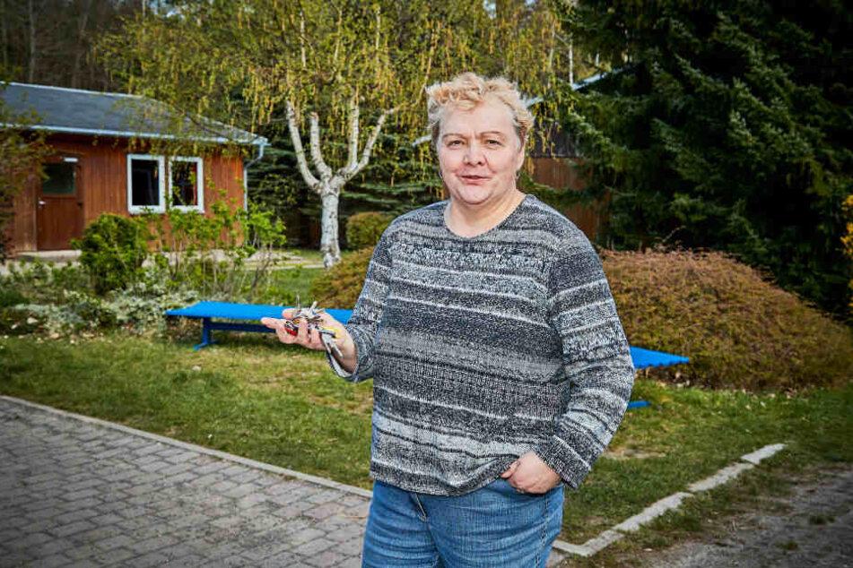 Vereins-Chefin Gesine Witt (60) ist erleichtert, dass eine Katastrophe noch verhindert wurde.