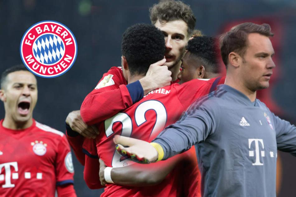 Neuer an Bord: Mit diesem Kader reist der FC Bayern nach Gladbach