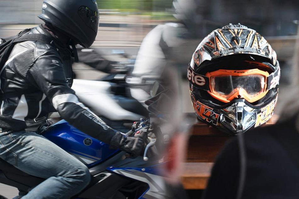 In Gedenken an Verstorbene: Hunderte Biker unterwegs