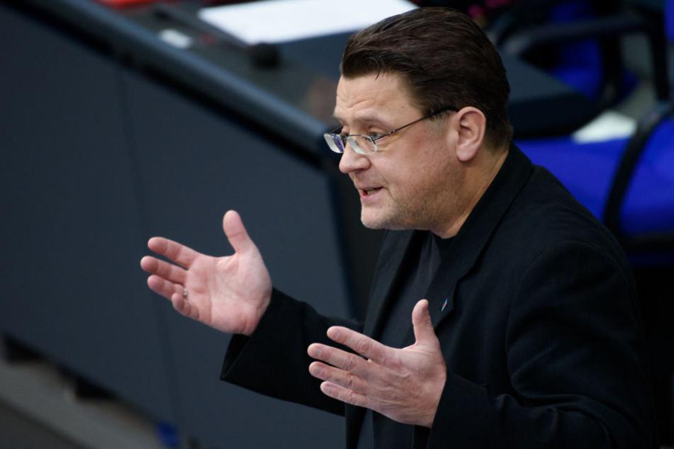 Stephan Brandner ist Vorsitzender des Rechtsausschusses.