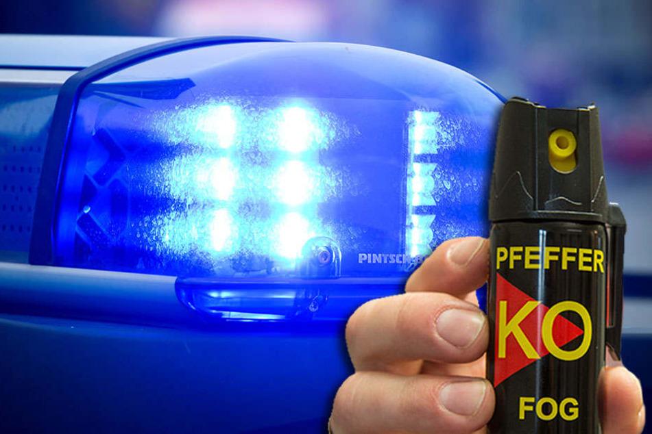 Einbrecher attackiert Mann mit Pfefferspray