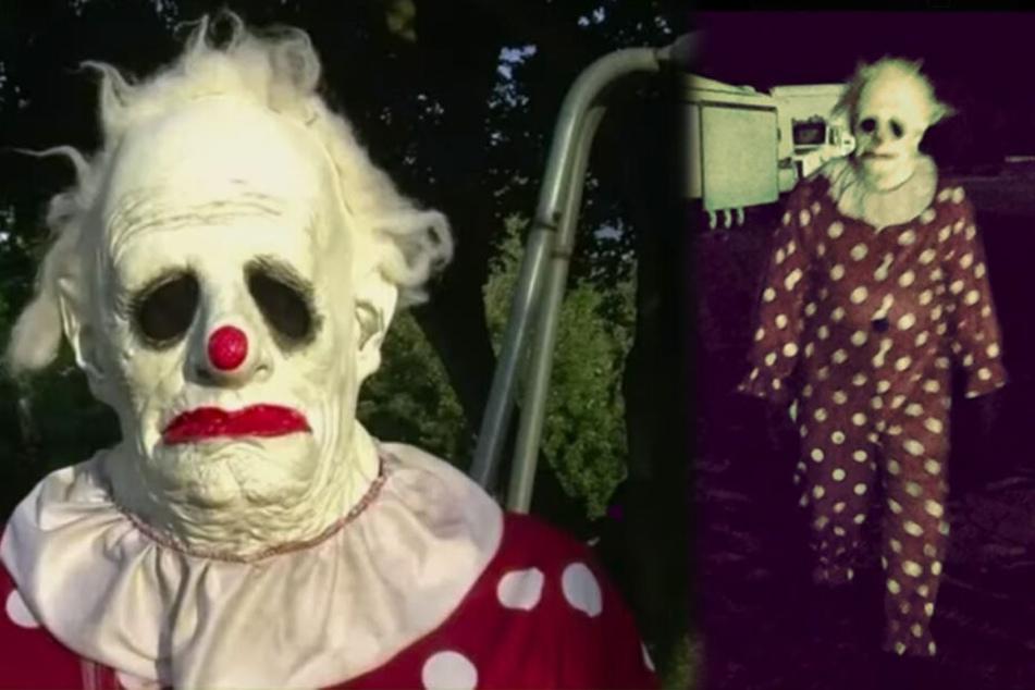 Nicht auf der Kino-Leinwand, sondern im echten Leben: Bis heute rätseln die Menschen in den USA über die Identität von Horrorclown Wrinkles.