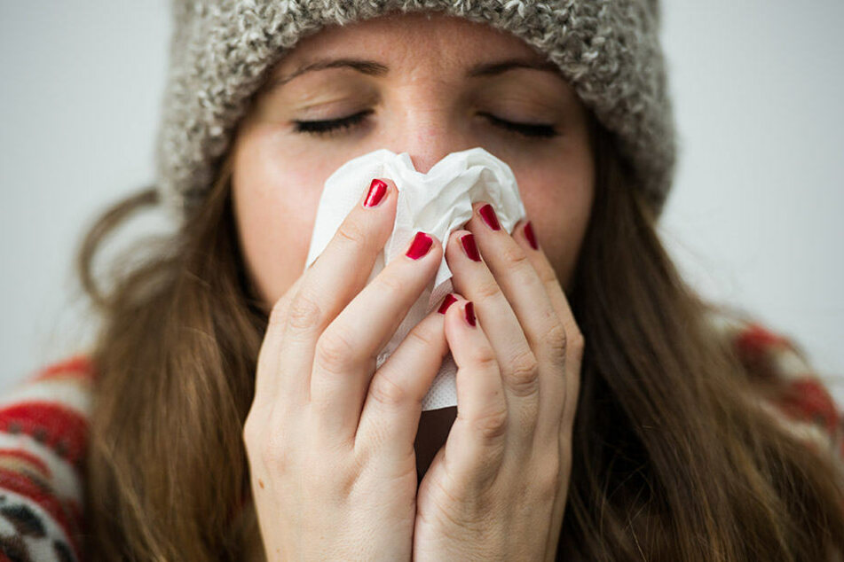 Die Grippewelle ist in Halle (Saale) weiter auf dem Vormarsch. (Symbolbild)