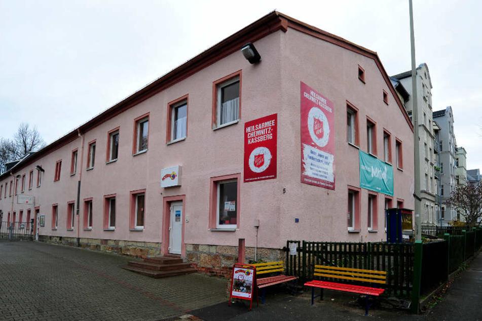 Die Einrichtung der Heilsarmee befindet sich in der Horst-Menzel-Straße auf dem Kaßberg.