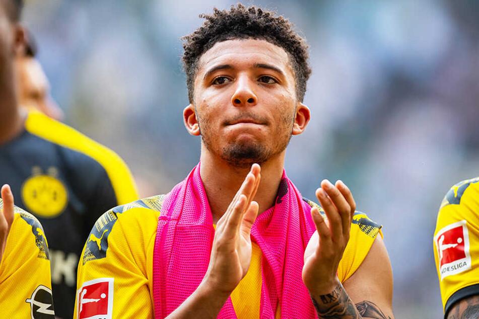 Spielt der umworbene Jadon Sancho auch in der kommenden Saison noch für den BVB?