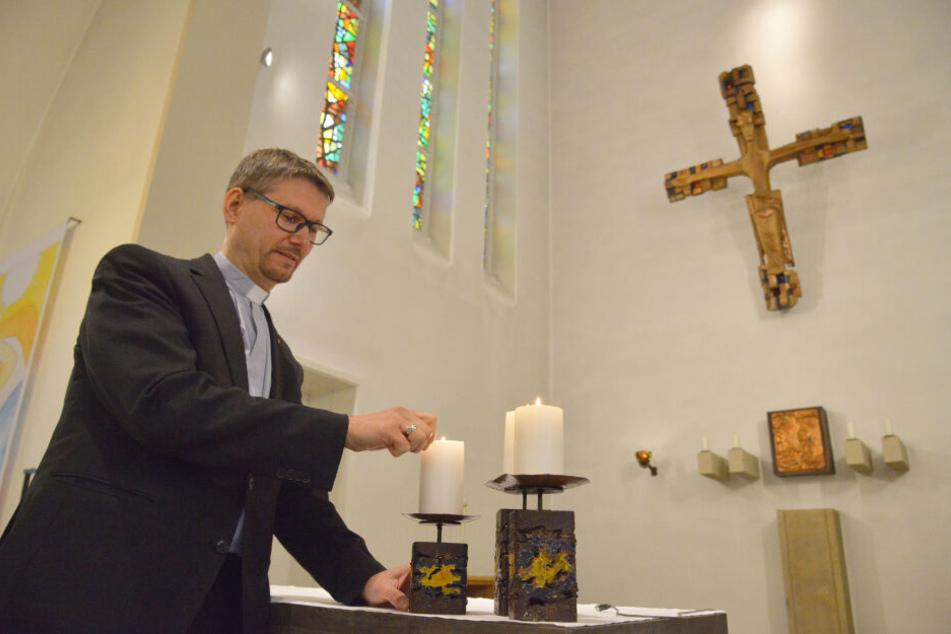 Markus Böhme predigt in vier Zwickauer Kirchen - und bei Facebook.