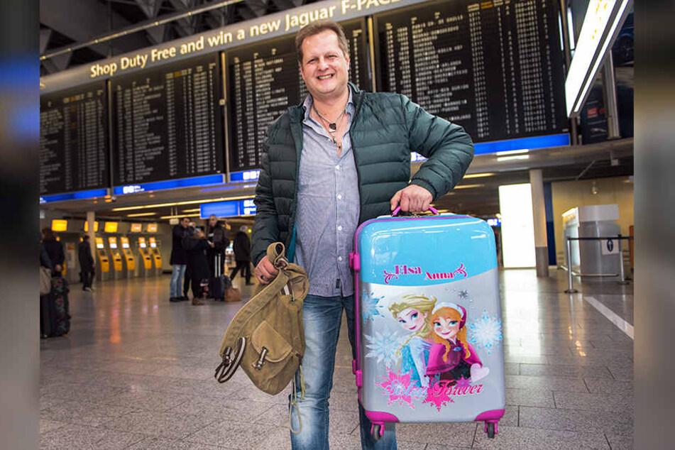 Im Januar reiste Jens mit dem Koffer seiner Kinder zum RTL-Dschungelcamp an.
