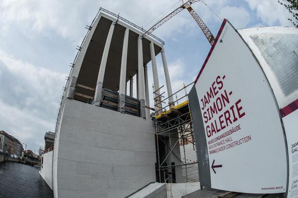 Diese Baustelle auf der Museumsinsel befindet sich so langsam auf der Zielgeraden.