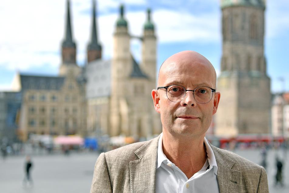 Halles OB Bernd Wiegand.