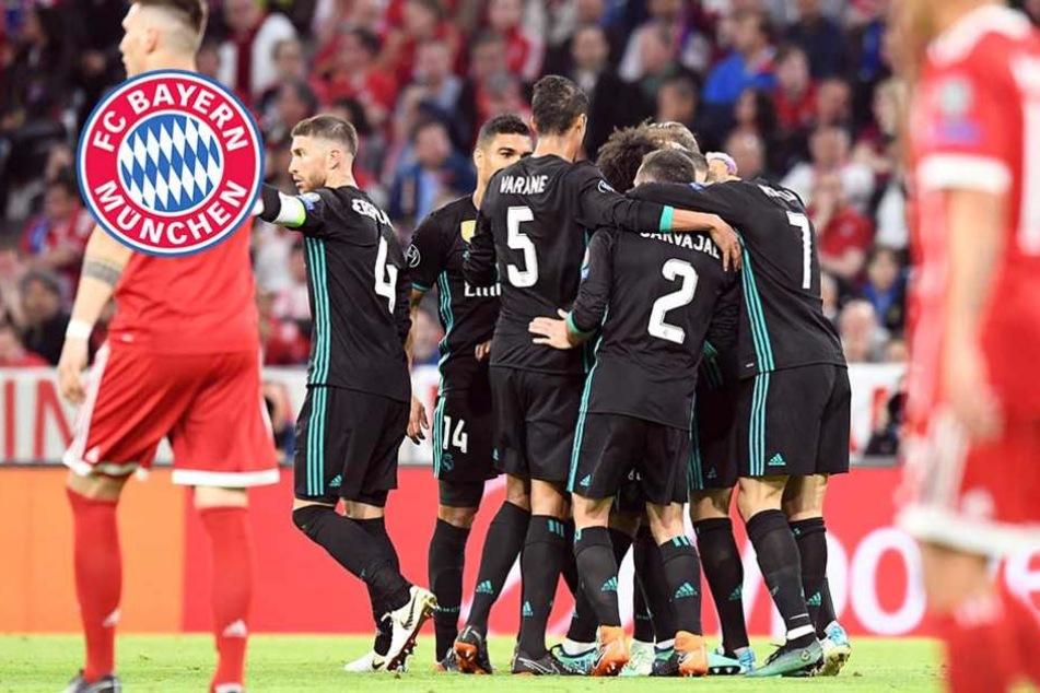 Wieder 1:2! Bayern kann einfach nicht gegen Real Madrid gewinnen