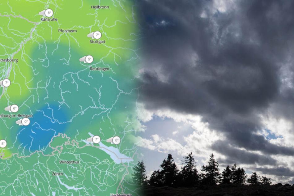 Achtung! Es wird wieder stürmisch in Baden-Württemberg