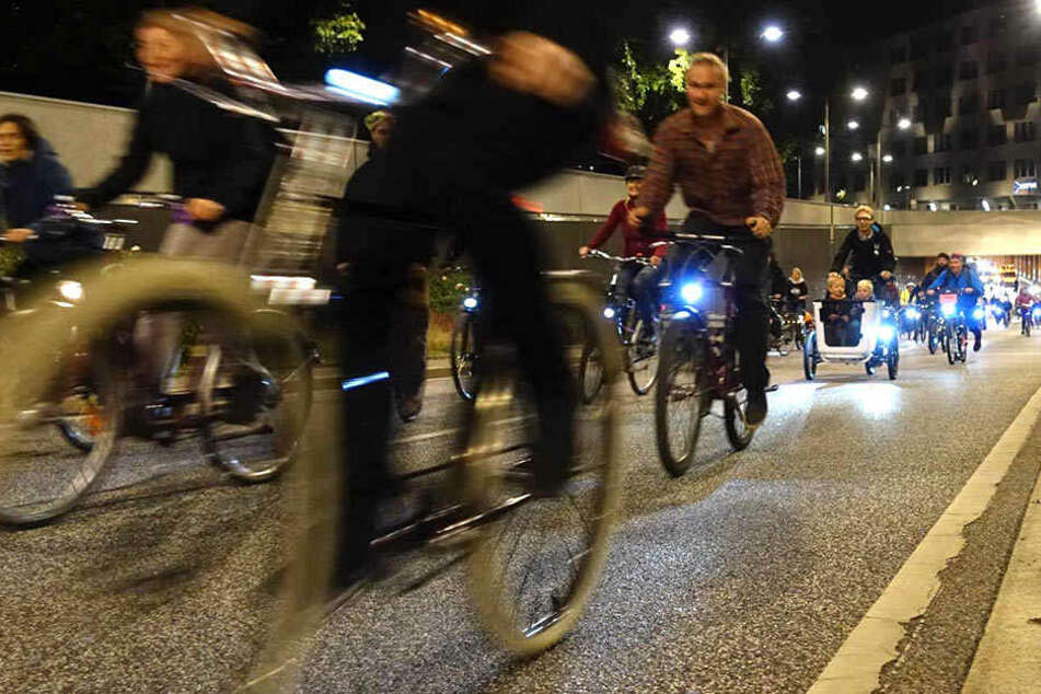 1100 Radler strampelten letztes Jahr durch die abgesperrte Innenstadt