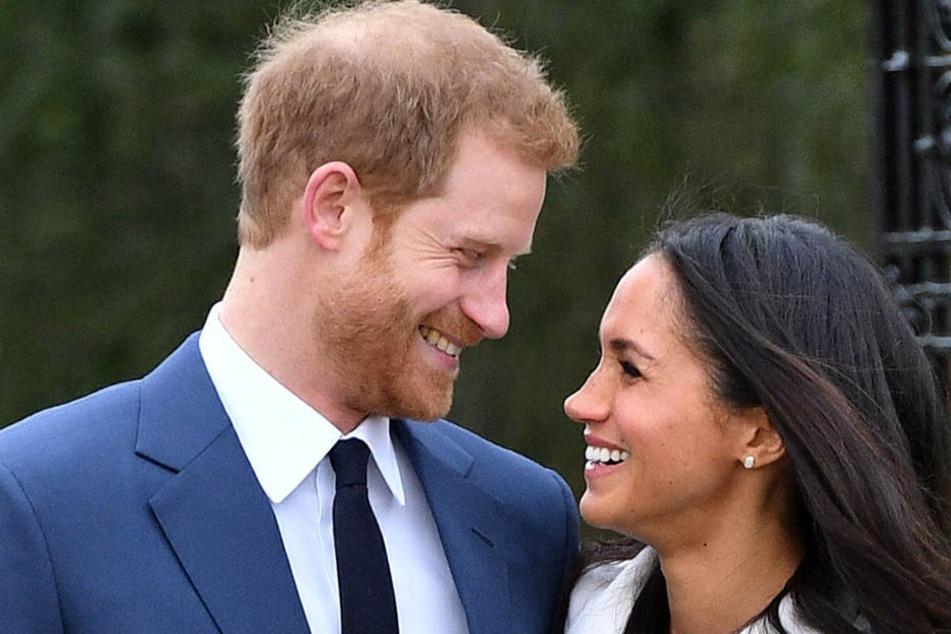 Prinz Harry und Meghan Markle sind glücklich: Im Mai wird endlich geheiratet!