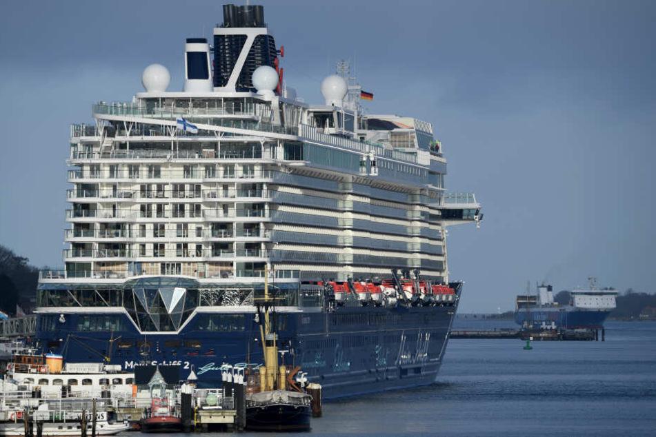 """""""Mein Schiff 2"""" von Tui Cruises."""