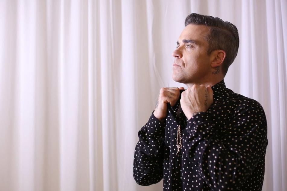 Robbie Williams kassierte einen ordentlichen Shitstorm für seine intime Frage.