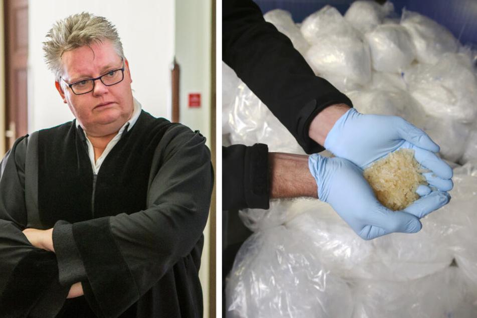 Die Behördenleiterin der Leipziger Staatsanwaltschaft, Dr. Claudia Laube (54), zog ihre Kollegin Elke Müssig von zwei großen Verfahren um den Crystal-Grundstoff Chlorephedrin ab, um die Mafia-Jägerin vor Angriffen eines Richters zu schützen.