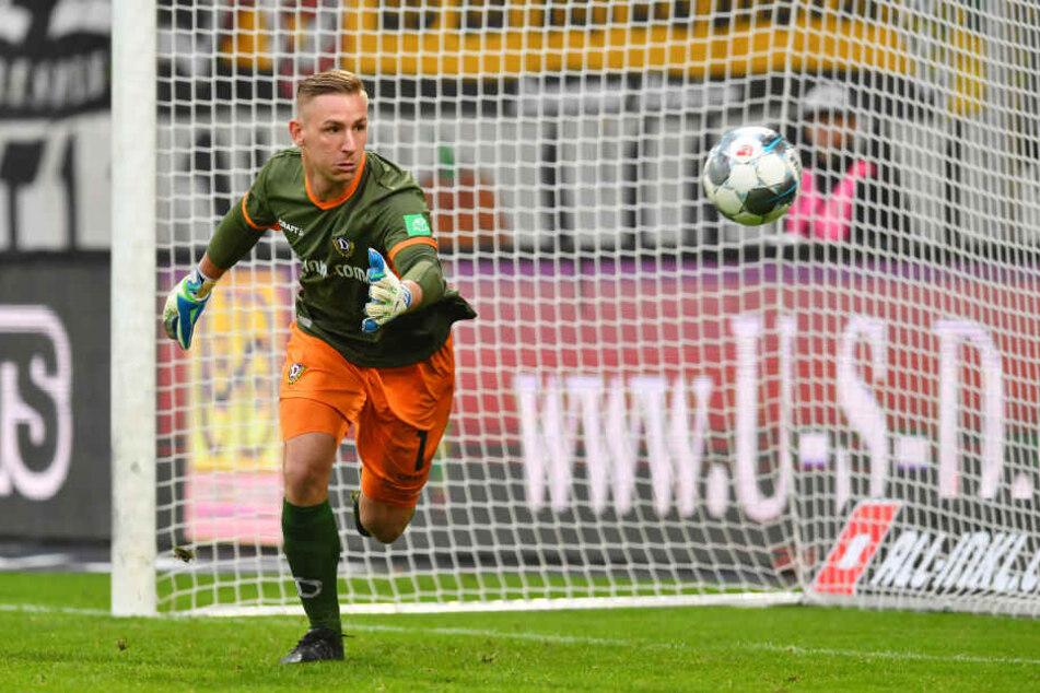 Mister Zuverlässig! Kevin Broll bot auch gegen Wehen Wiesbaden wieder eine starke Partie.