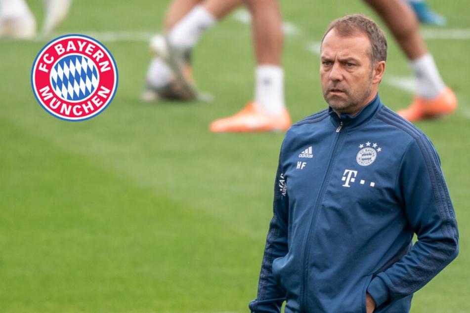"""Bayern-Coach Flick verteidigt Transfervorstoß: """"Der Situation geschuldet"""""""