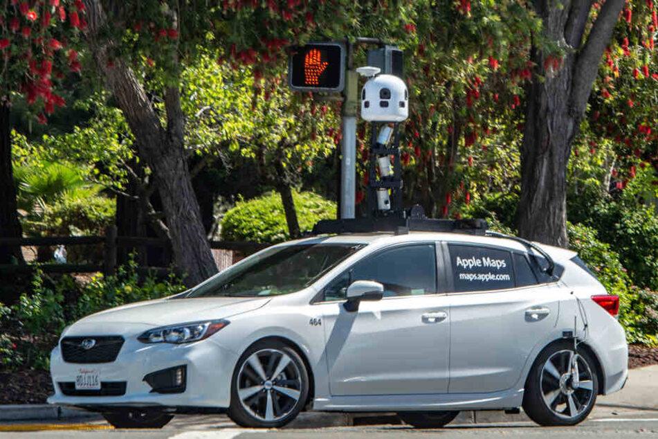 Wenn Du diese Autos siehst, hat Dich Apple wahrscheinlich im Visier