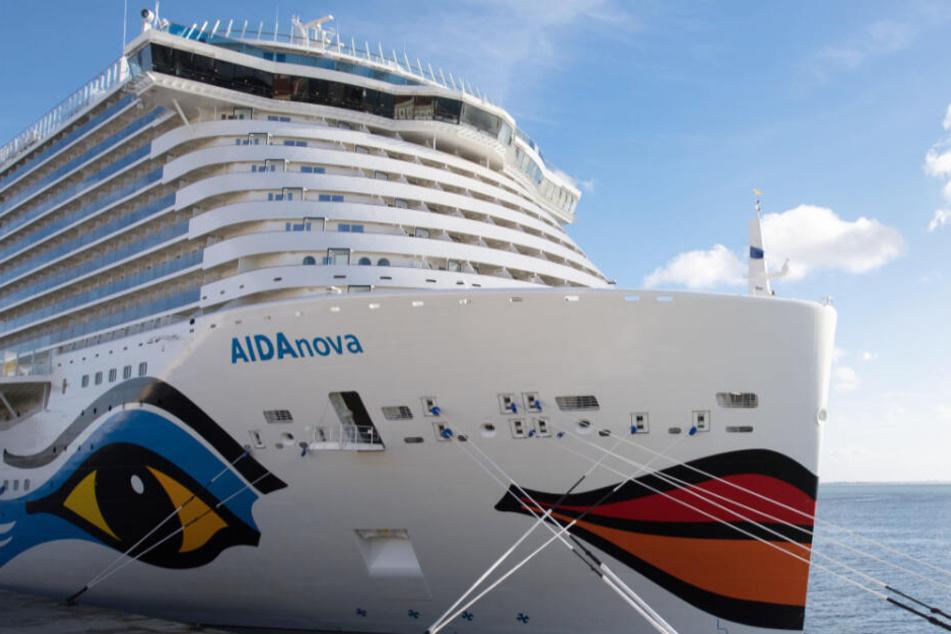 Aida setzt bei klimafreundlichen Kreuzfahrten auf neue Technologie
