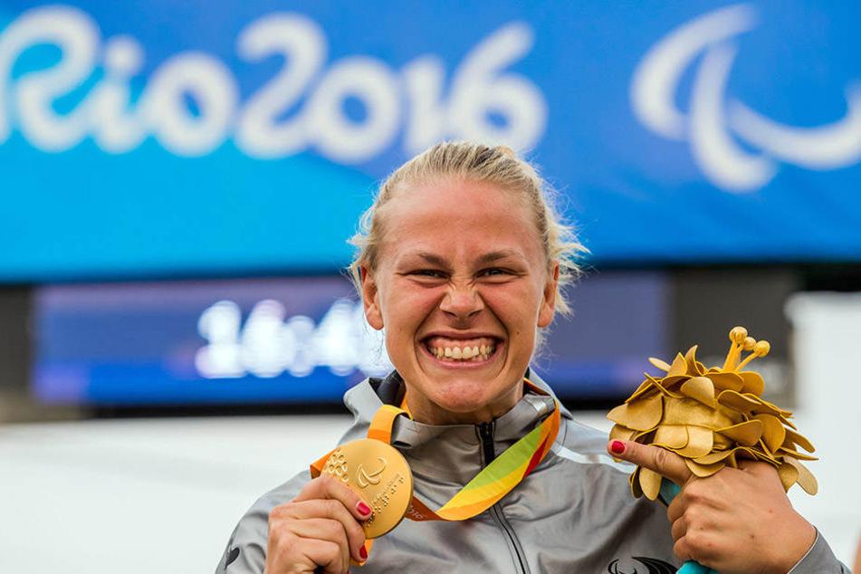 In Rio de Janeiro holte sich die 29-jährige eine Goldmedaille.