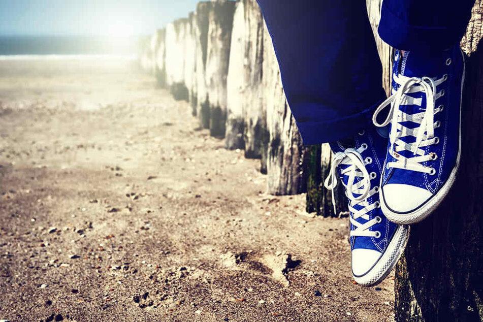 Im geschlossenen Schuh herrscht bestes Klima für die Bakterien.