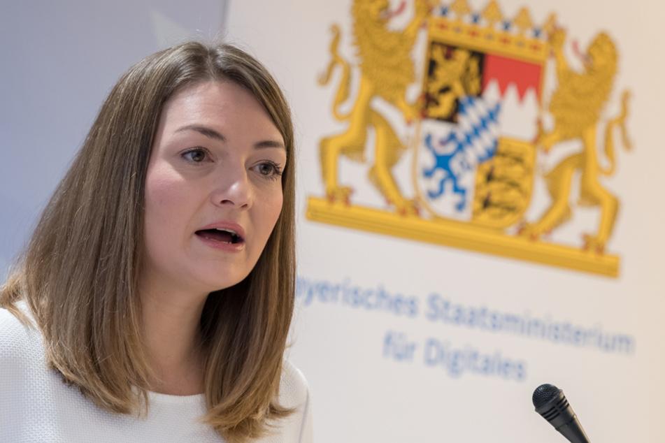 Bayerns Digitalministerin Judith Gerlach (CSU) will den Corona-Schub weiter nutzen. (Archivbild)