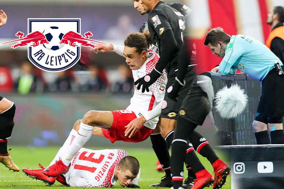 Videoschiri-Ärger und Zuschauer-Negativwert! RB Leipzig spielt nur Remis