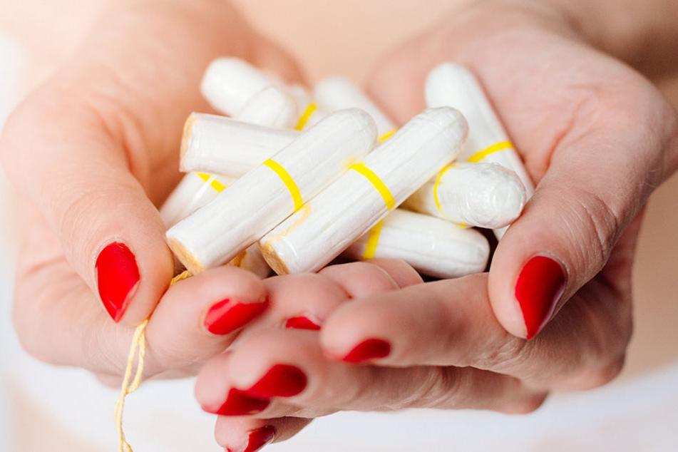 Der giftige Wirkstoff Glyphosat steckt auch in Tampons und Binden.