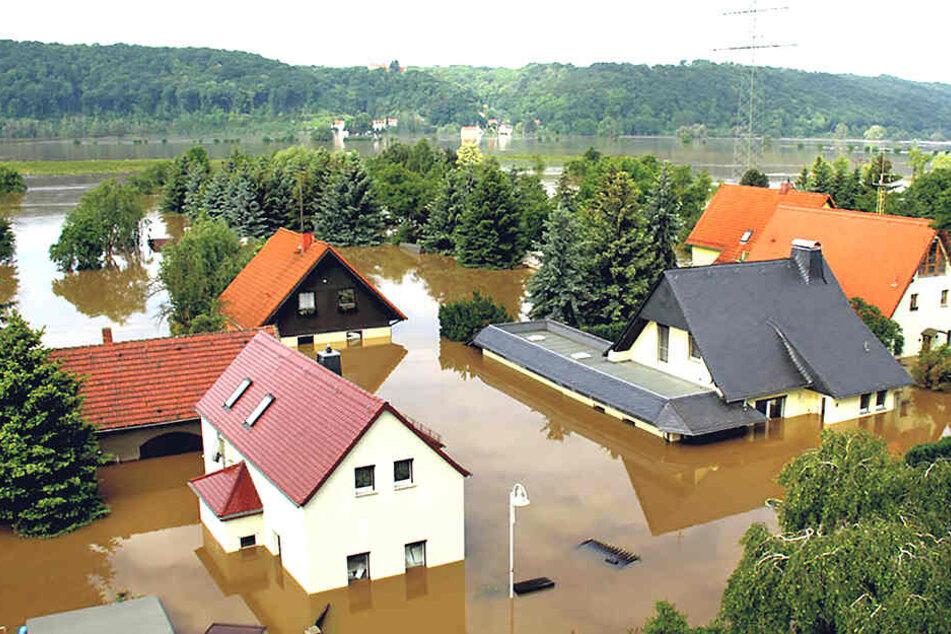Ständig Hochwasser! Halbes Dorf will nach oben