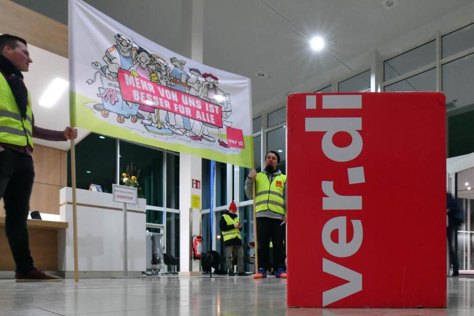 Tarifkonflikt: Ganztägige Warnstreiks in Thüringen