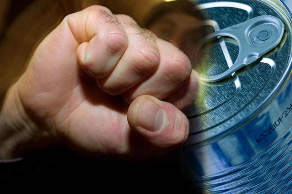 Erst machte der Mann seinen Mitbewohner an, dann zog er eine Konservendose aus seiner Plastiktüte und schlug damit zu. (Symbolbild)
