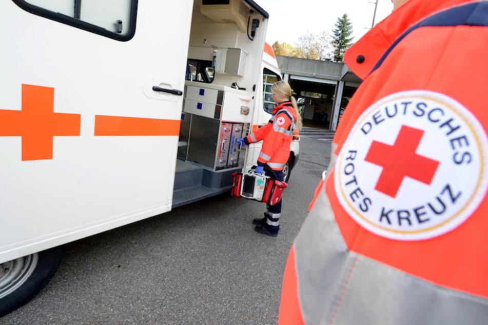 Viel zu tun für die Rettungskräfte des Roten Kreuzes in der Jugendherberge in Mirow. (Symbolbild)