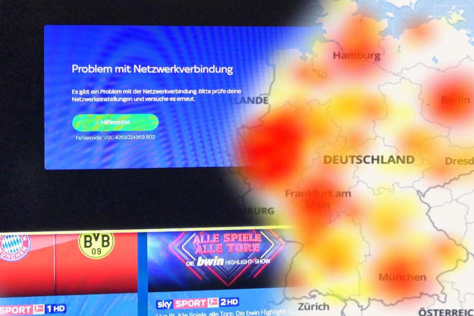Sky-Zuschauer sauer: Server bricht bei Topspiel zusammen