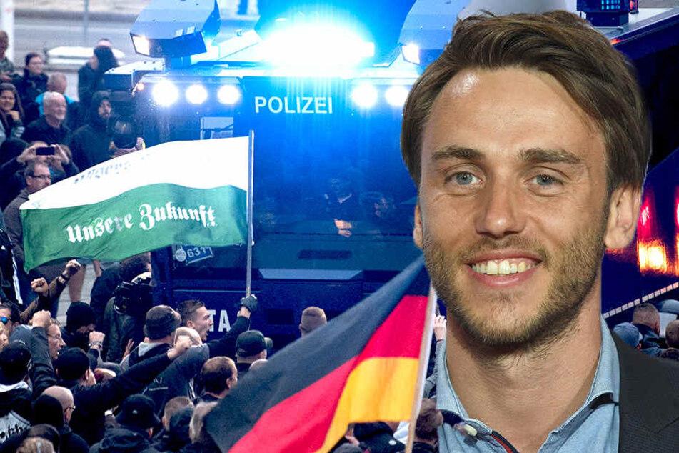 Sänger Clueso (38) will, das Geschehen in Chemnitz nicht einfach so hinnehmen.