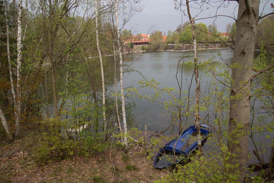 Taucher kann nur noch tot aus Baggersee in Kamenz geborgen werden
