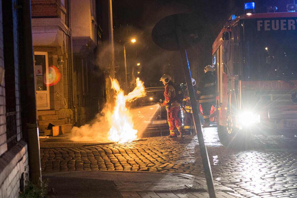 Die Feuerwehr konnte einen größeren Brand verhindern.