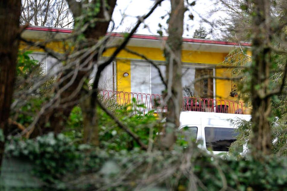 Das Haus des getöteten Unternehmerpaars in Wuppertal.