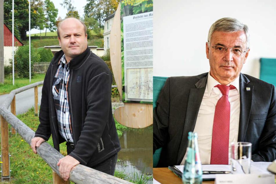 Suspendierter Bürgermeister zerrt Landrat vor Gericht