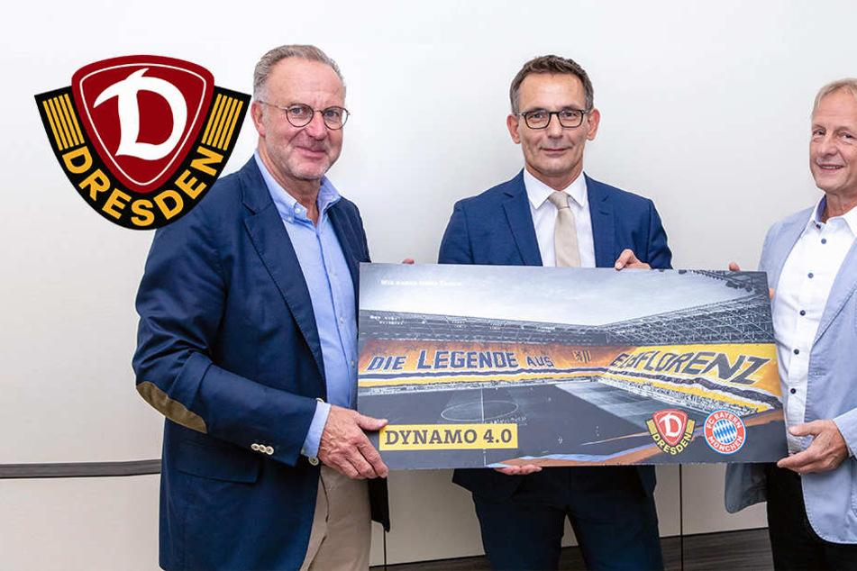 """""""Meilenstein!"""" Dynamo schließt Partnerschaft mit Bayern München"""