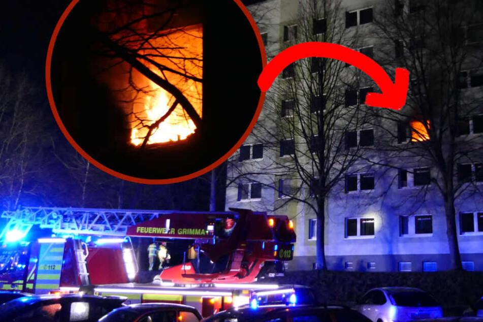 Feuer-Drama in Sachsen: Kind (8) und Mutter sterben bei Wohnungsbrand