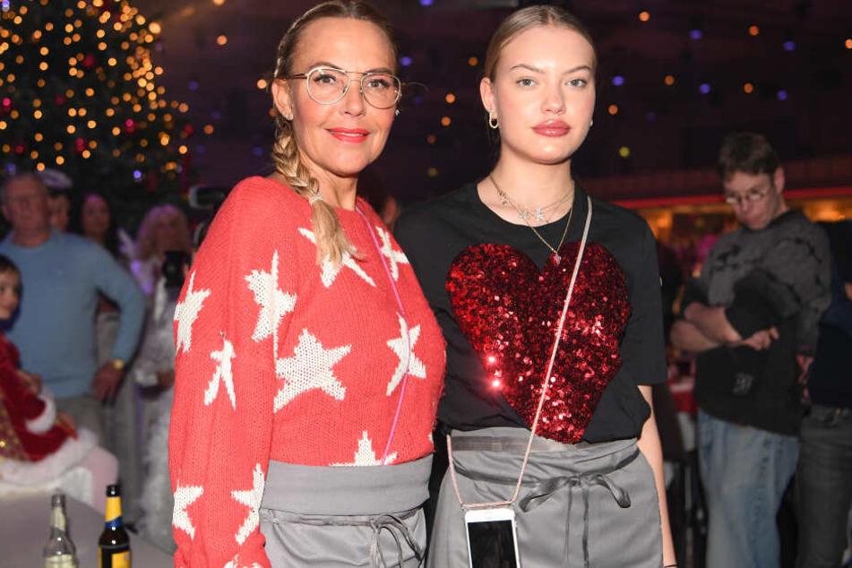 Ein Herz und eine Seele: Natascha Ochsenknecht (54) und Tochter Cheyenne (19).